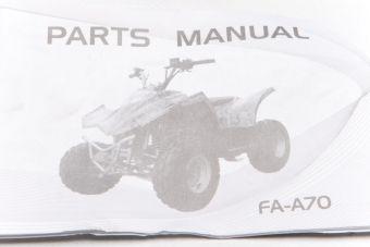 Instruktionsbok - ATV 90 Viarelli/Ten7