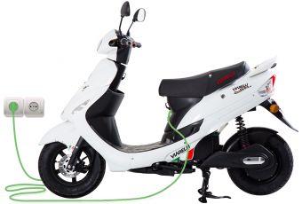 Hvit Viarelli GT1E El-Scooter