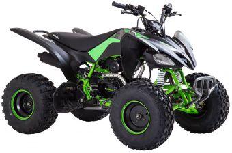 Viarelli Agrezza ATV 125cc mattsvart/grønn