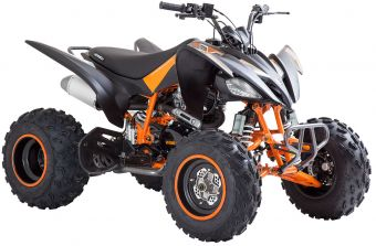 Viarelli Agrezza ATV 250cc mattsvart/oransje
